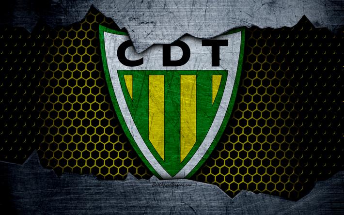 футбол 1 Wallpaper: Download Wallpapers Tondela, 4k, Logo, Primeira Liga