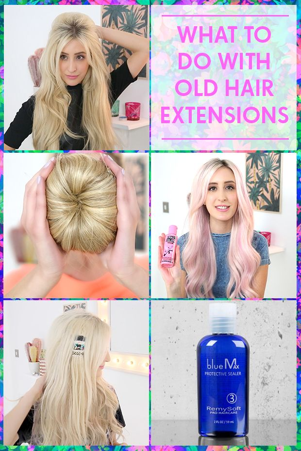 What To Do With Old Hair Extensions My Future Closet Hair Nails