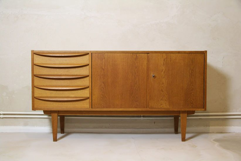 Schrank designklassiker  Franz Ehrlich - 1956 - VEB Deutsche Werkstätten Hellerau - 602/K ...
