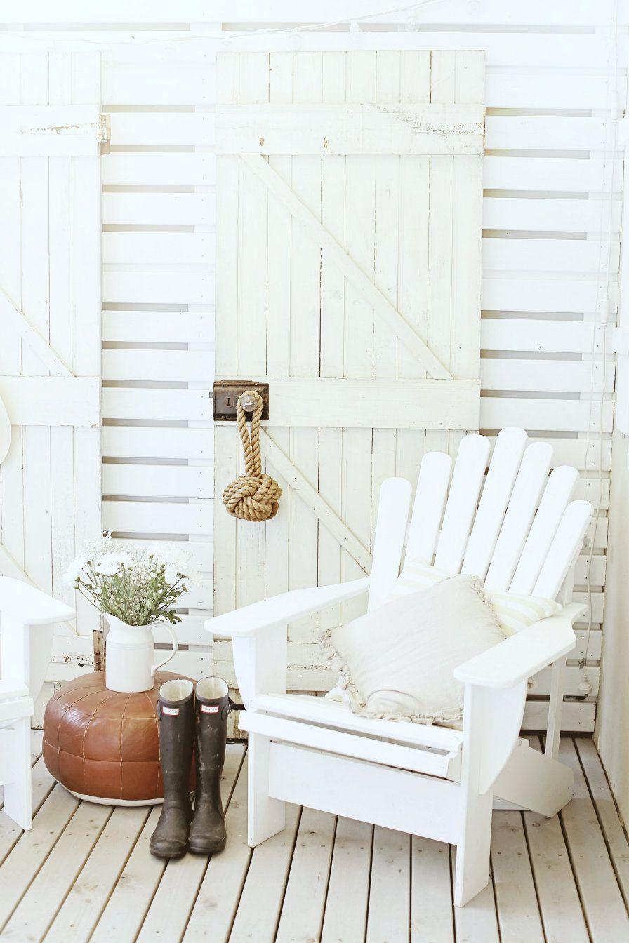 A Beach Cottage Reader Donates Me Vintage Doors Beach Cottage