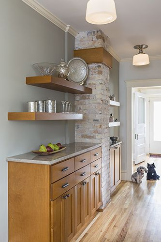 Image Result For Cabinets With Exposed Chimney Medford Pinterest