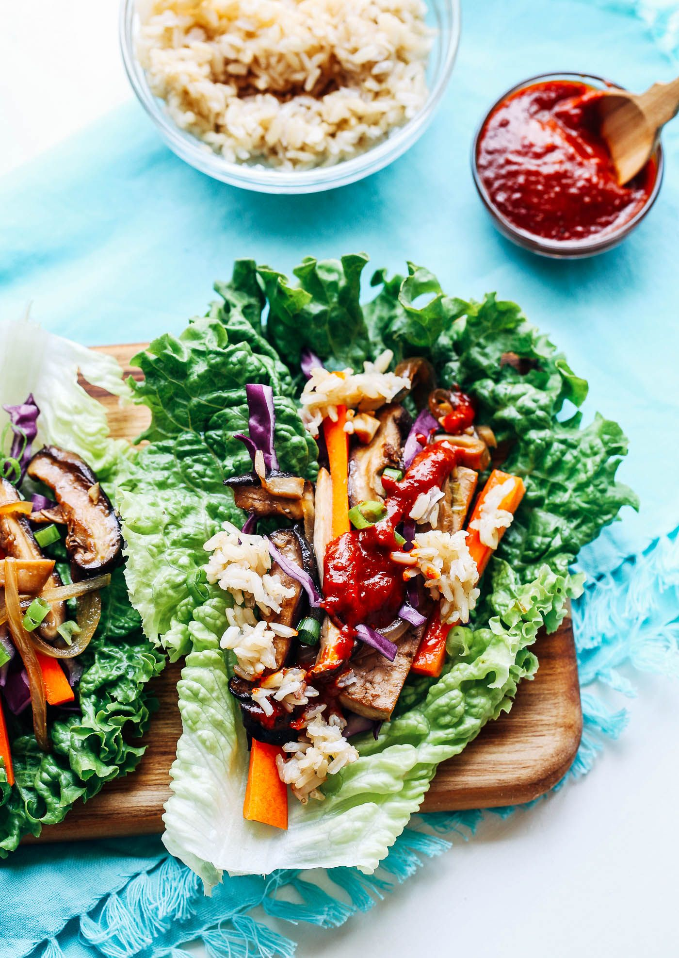 Vegan Bulgogi Lettuce Wraps - Making Thyme for Health ...