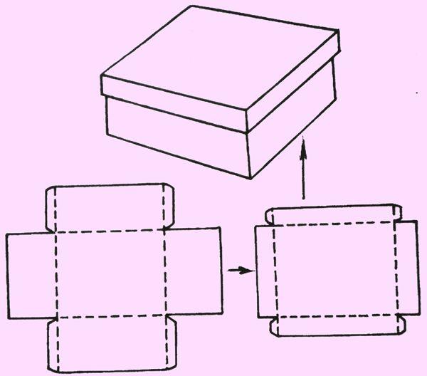Подарочные коробки своими руками шаблоны из картона фото 763