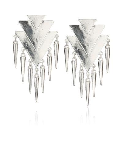 Gina Tricot - Geo chain drop earrrings