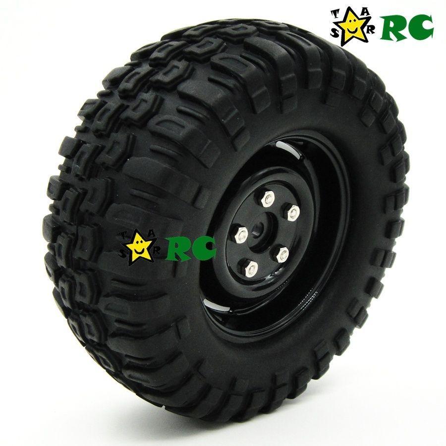 14 25 Rc 1 10 Rock Crawler Tires 96mm Wheels F Axial Climbing Accessories Upgrade 2pcs Ebay Collectibles Rock Crawler Wheel Ebay