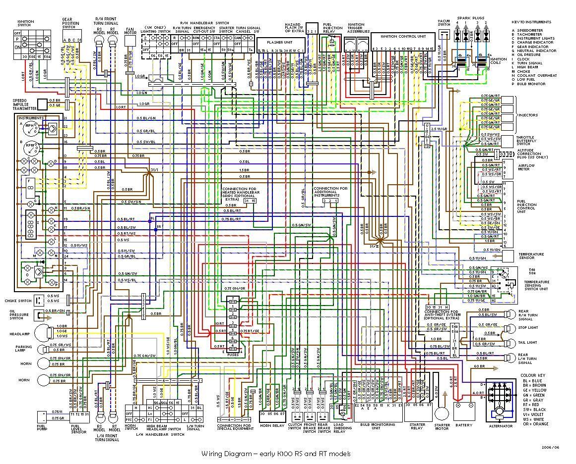 Bmw K100 Kenworth Diagram