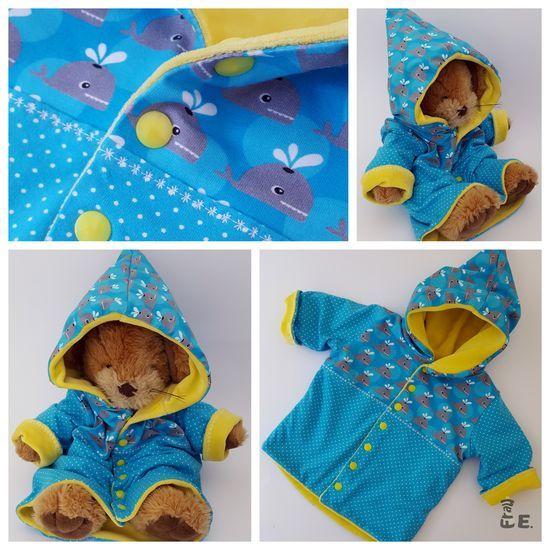 Photo to pattern Freebook Zipfel Jacket Bella from Rabaukennaht ...