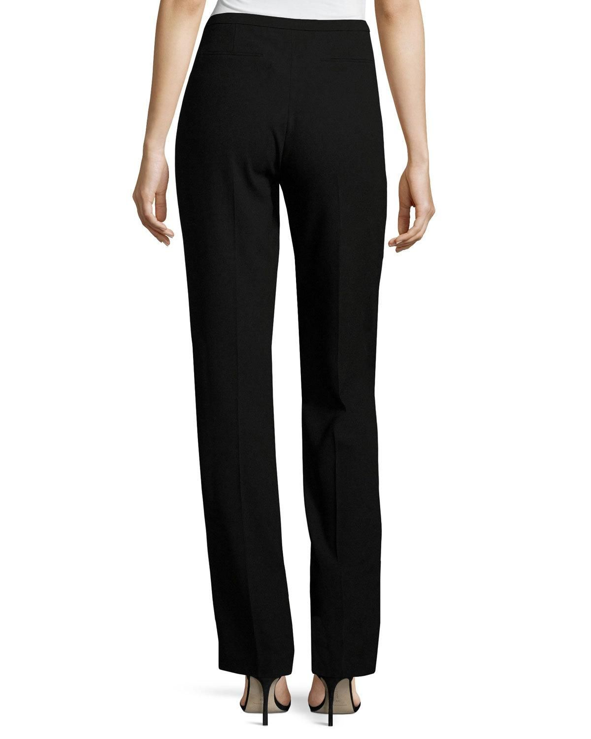 c1fd746086a48 Elie Tahari Stella Straight-Leg Stretch-Knit Pants