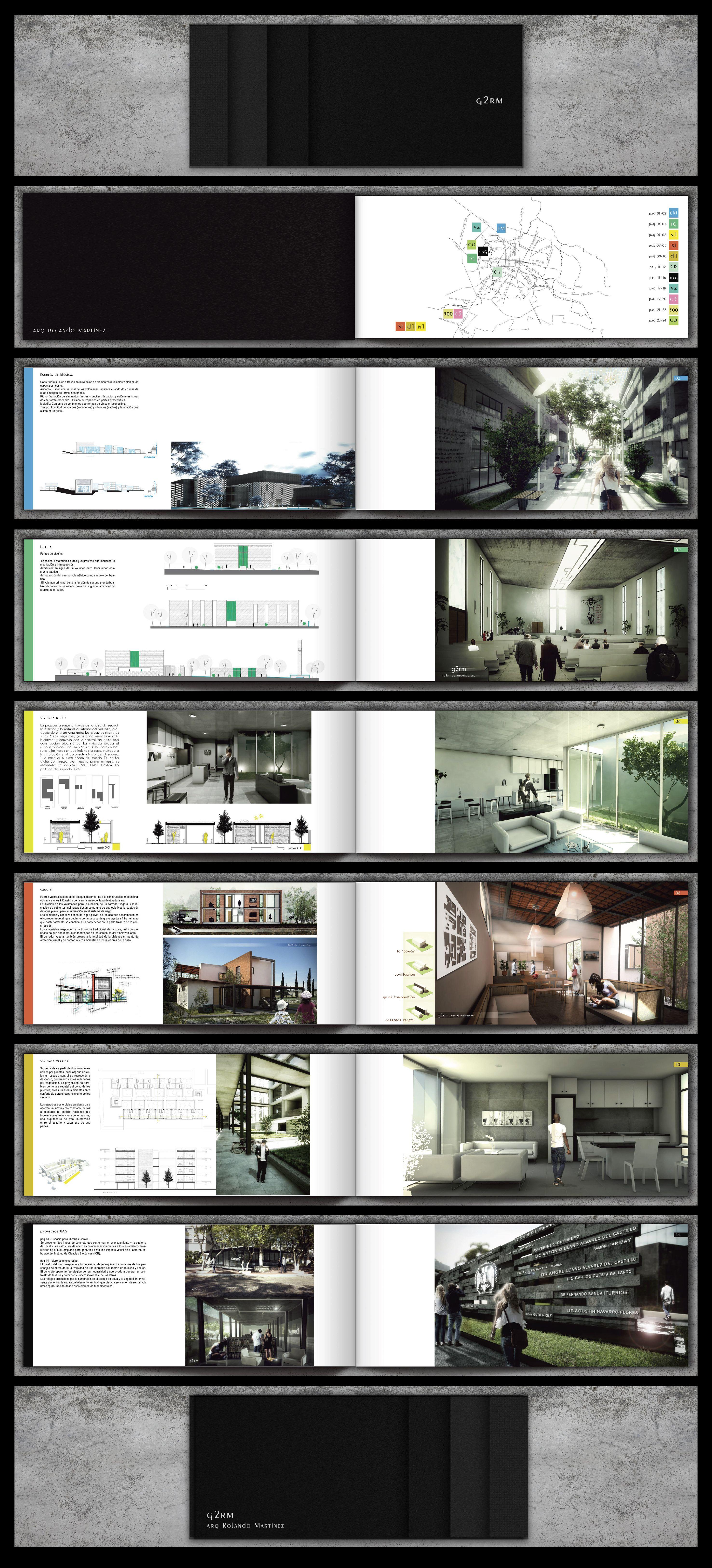 Portafolio Arquitectura G2rm Portfolio Architecture G2rm