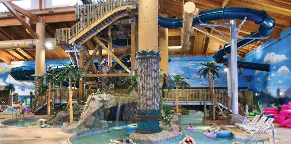 Minnesota Indoor Waterpark Alexandria Recreation Arrowwood Resort Mn