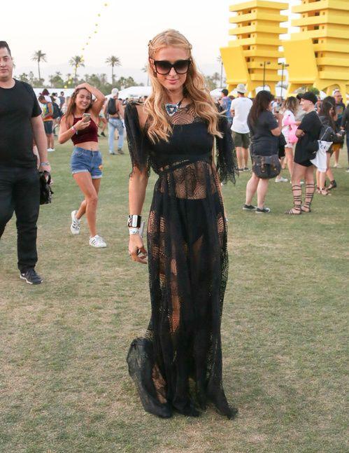 Paris Hilton lors du premier week-end du Festival de Coachella