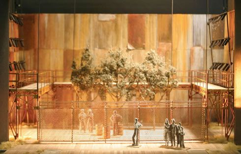 Set design by Allen Moyer for The Grapes of Wrath at Minnesota Opera Courtesy Minnesota Opera/Set design by Allen Moyer