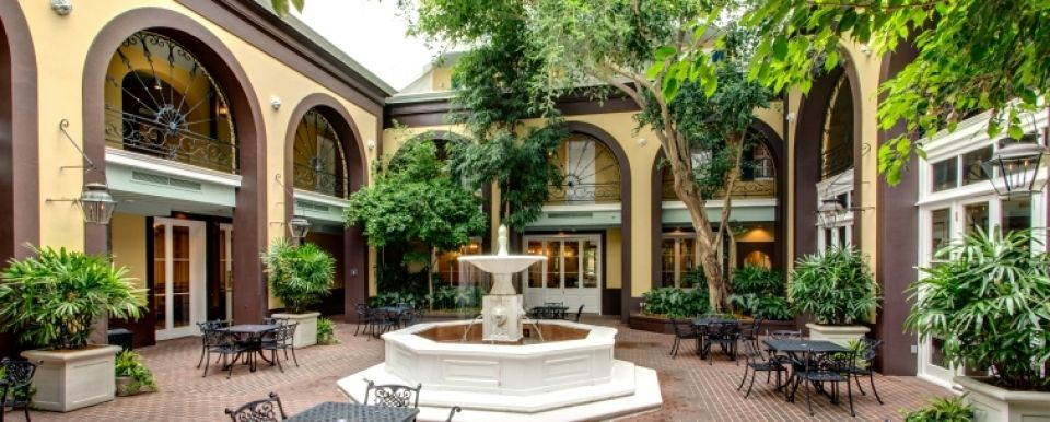French courtyard shops luxury french quarter boutique for French country courtyard
