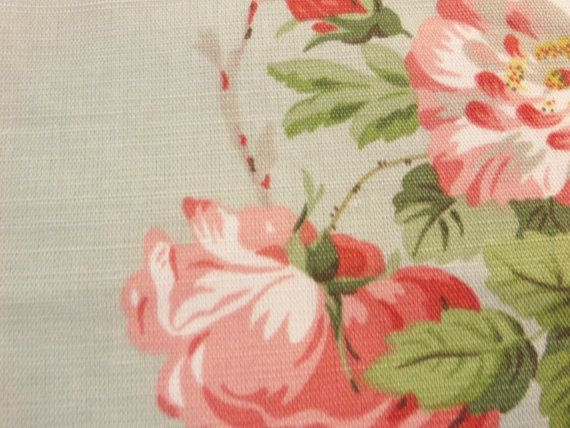 "PRODUCT TYPE :  FABRIC  MANUFACTURER: Scalamandre  PATTERN: 16485 - 002  NAME:	Selbourne #Floral Print  COLOR:  Mult on #French Blue  WIDTH: 55 1/4""  REPEAT: H: 2... #fabric #supplies #floral #cotton #scalamandre #selbourne #floral #print #linen #nylon #multi #french #blue"