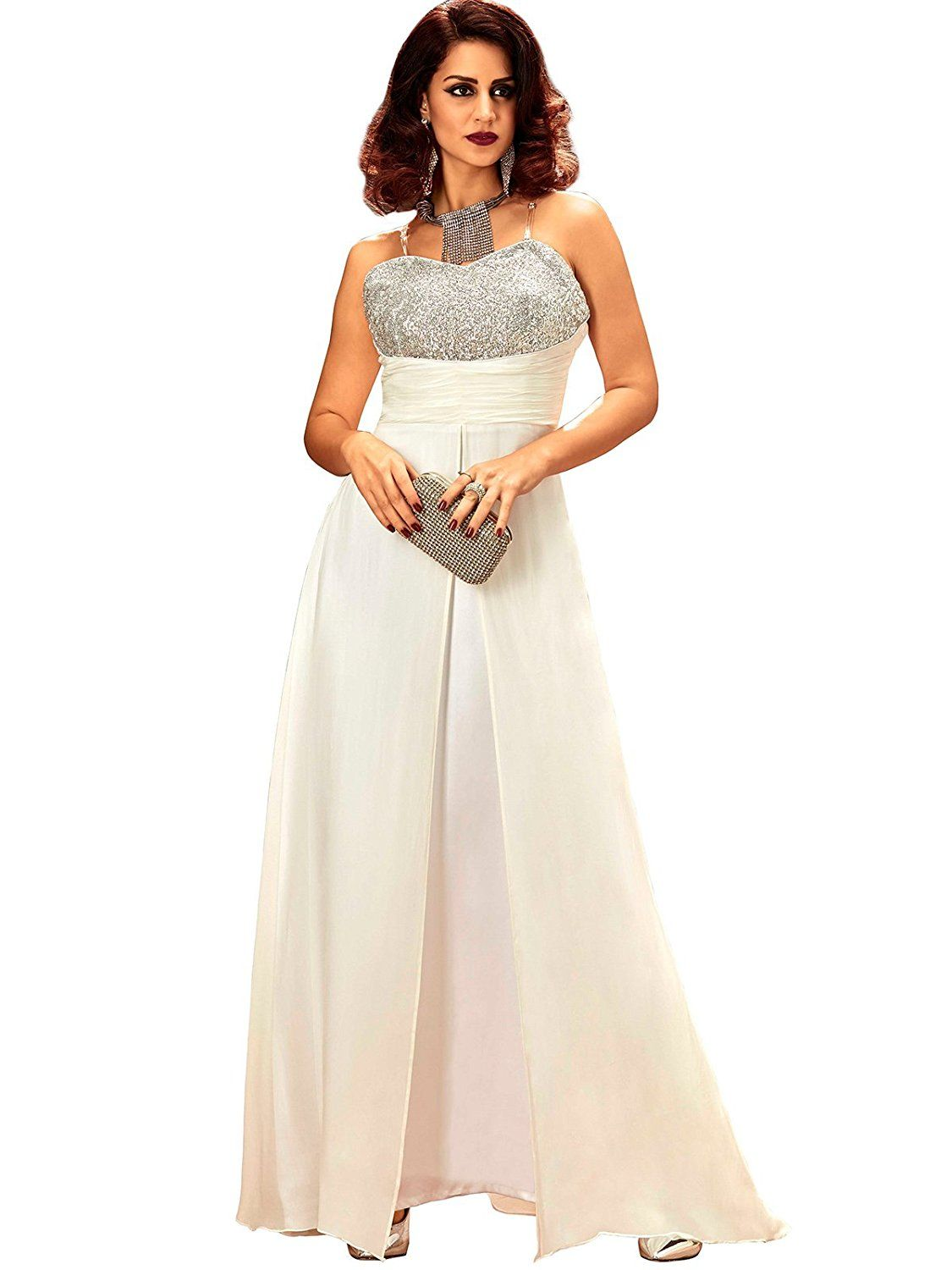 8b3d51d2a Buy Khwaab party wear gown at best price which gives you a beautiful look.