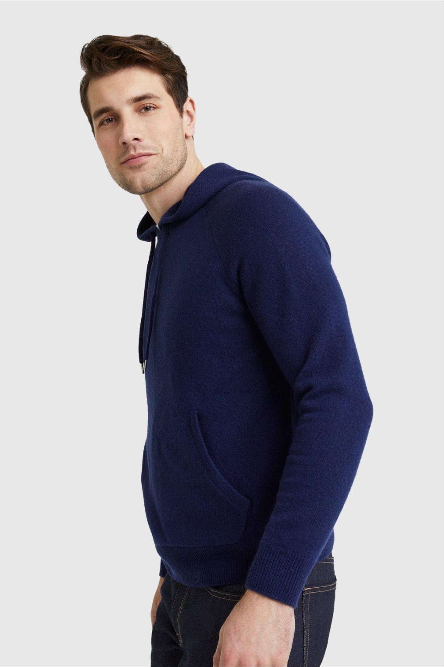 Cashmere Pullover Hoodie Sweatshirt Quince Cashmere Sweater Men Cashmere Hoodie Men Sweater [ 2160 x 1440 Pixel ]