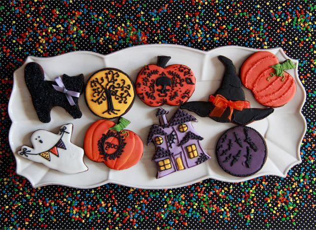 Galletas de Halloween no muy terrorficas Arte en Galletitas