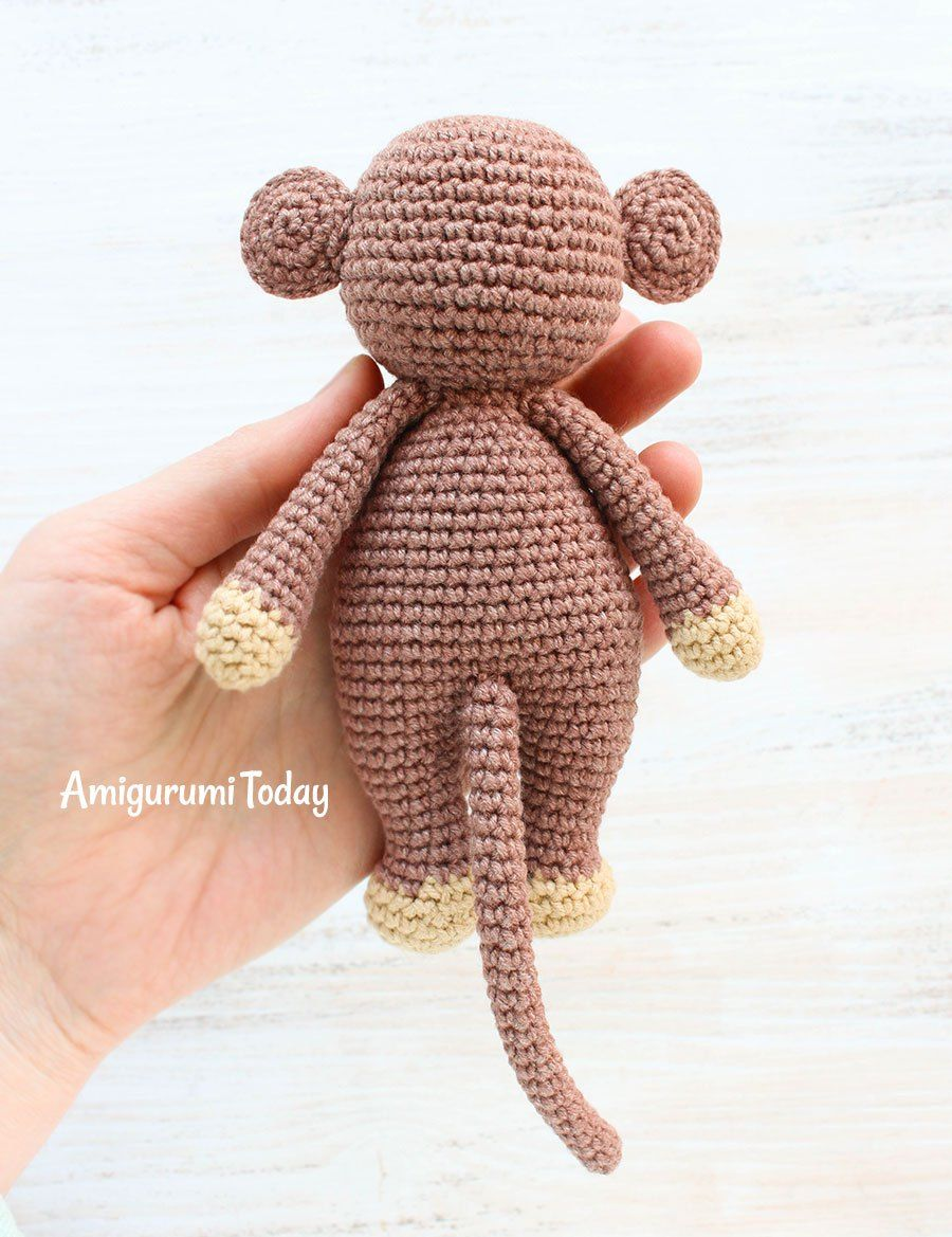 Cuddle Me Monkey amigurumi pattern | Patrón de ganchillo, Ganchillo ...