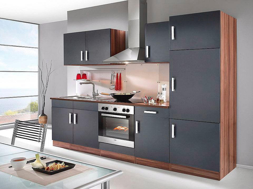 HELD MÖBEL Küchenzeile mit E-Geräten »Toronto, Breite 270 cm« Jetzt ...