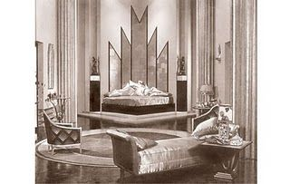 Pin By Rachel Simpson On Art Deco Inspirations Art Deco Interior Design Art Deco Room Art Deco Bedroom