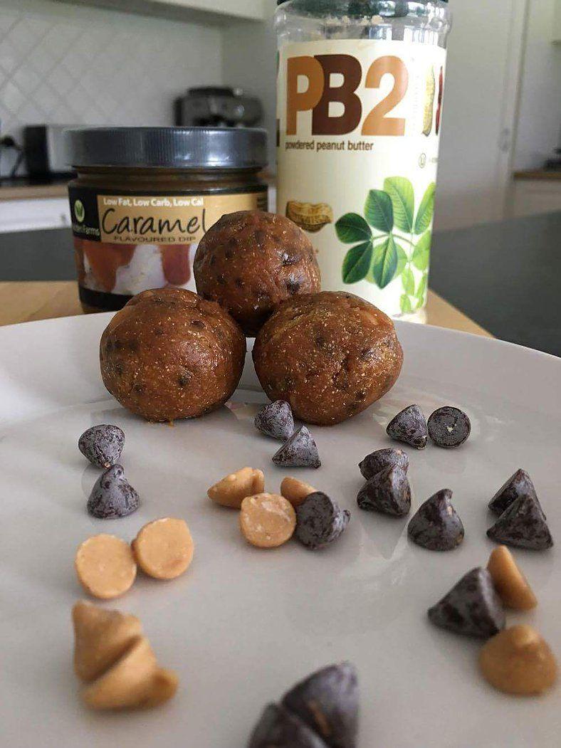 Caramel Chocolate Chip Peanut Butter Cookie Dough Bites from Nutrition-Ness.com (scheduled via http://www.tailwindapp.com?utm_source=pinterest&utm_medium=twpin&utm_content=post29266800&utm_campaign=scheduler_attribution)