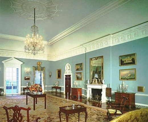 American Federal Period Interior Design And Home Decor