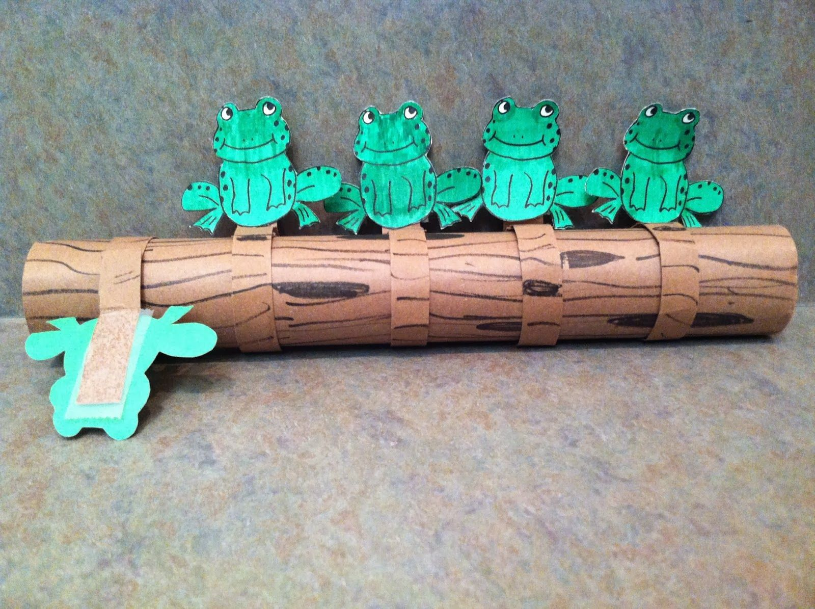Five Little Speckled Frogs Printables