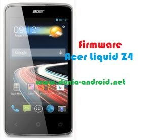 Download Firmware Acer Liquid Z4 Z160