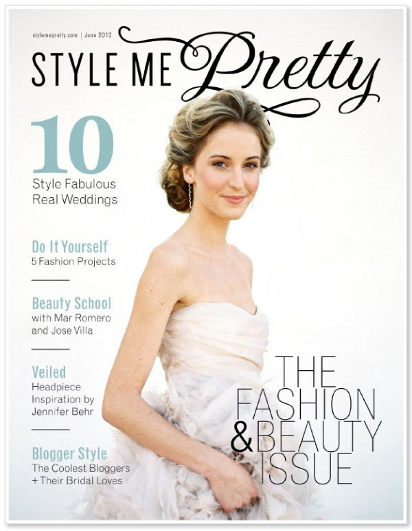 Style me Pretty's Bridal Fashion & Beauty E-Magazine is here! See every gorgeous page right here http://issuu.com/stylemepretty/docs/stylemepretty_fashion_beauty_magazine