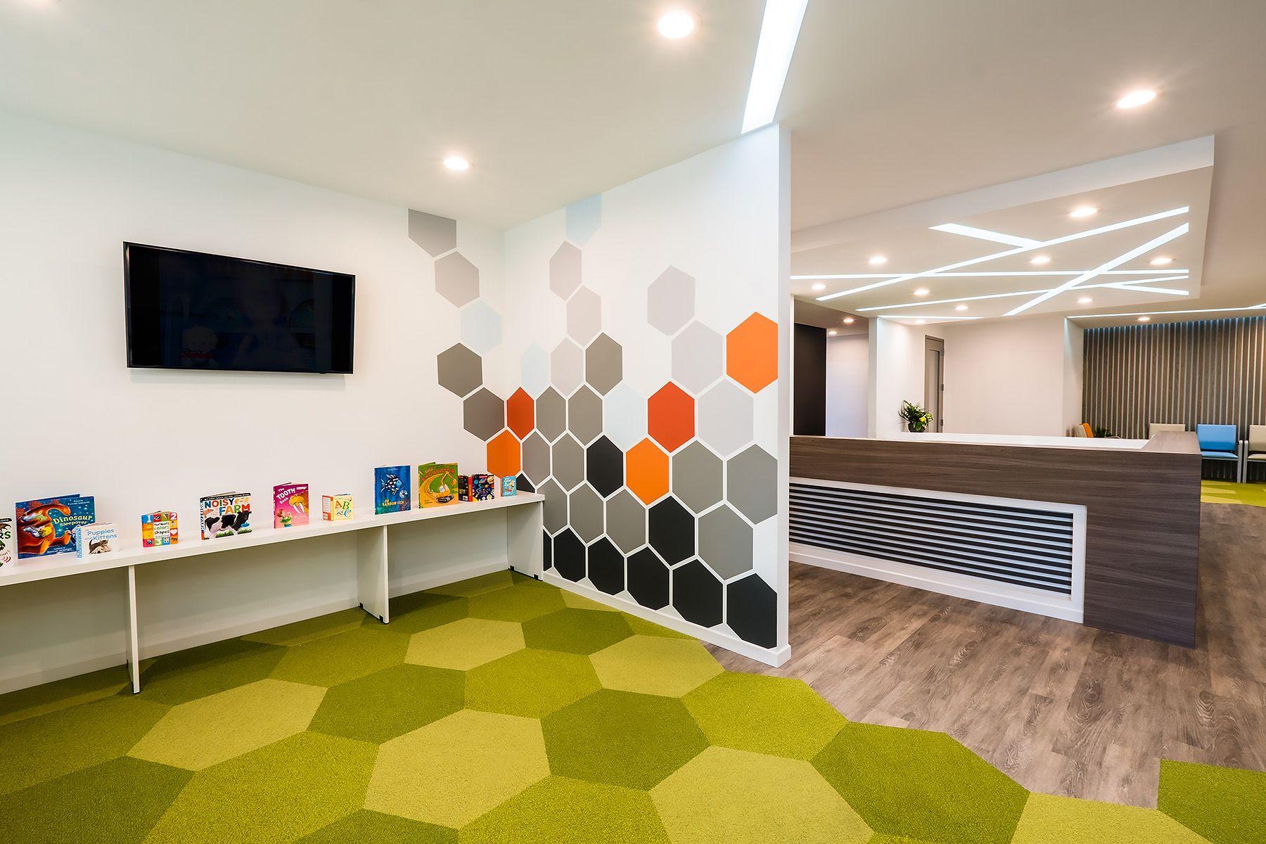 Chesapeake pediatric dentistry reception area design