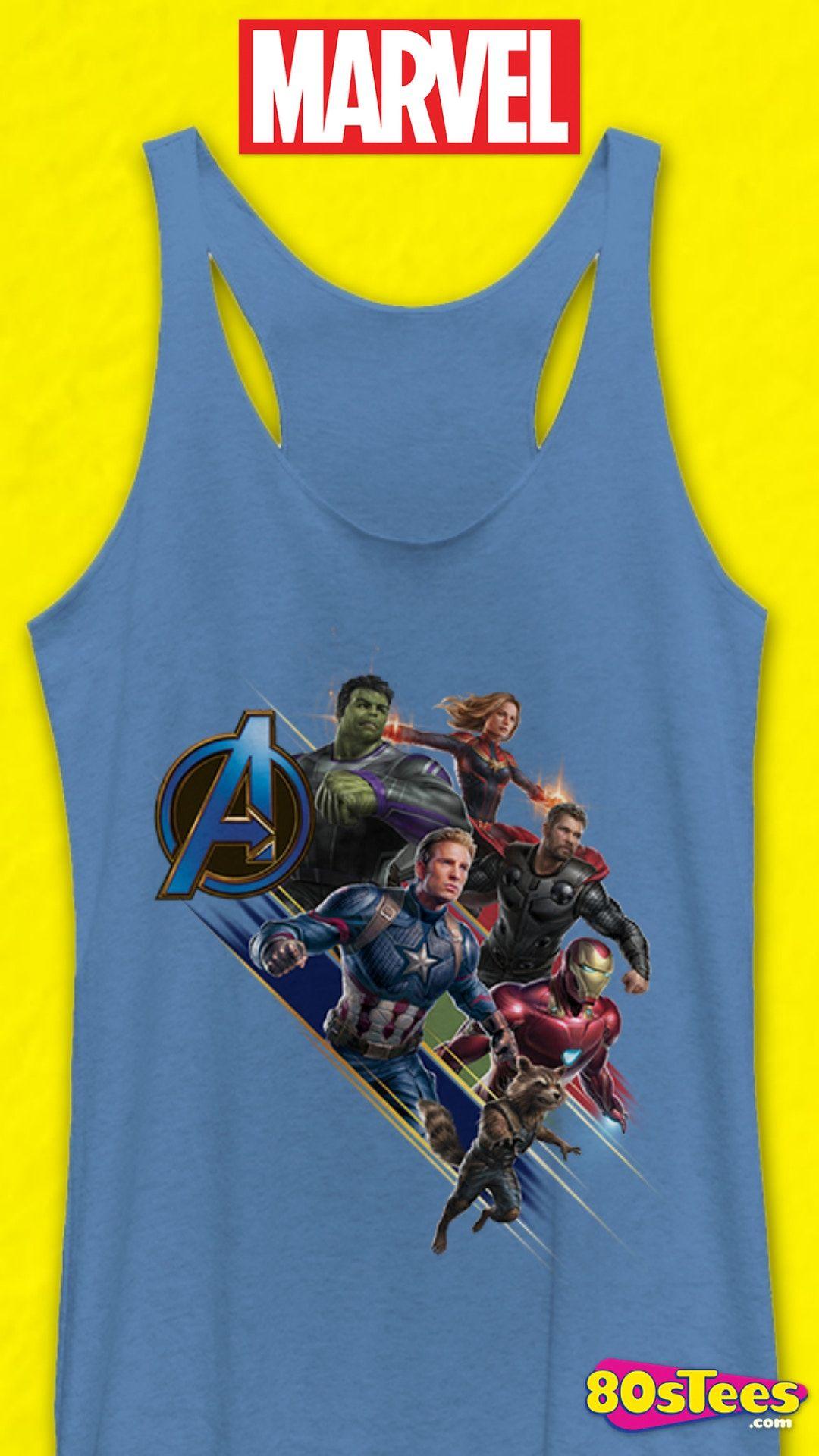 Marvel Womens Official Thor Retro Juniors Racerback Tank