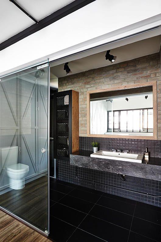 Bathroom Design Ideas Open Concept Spaces That Use Glass
