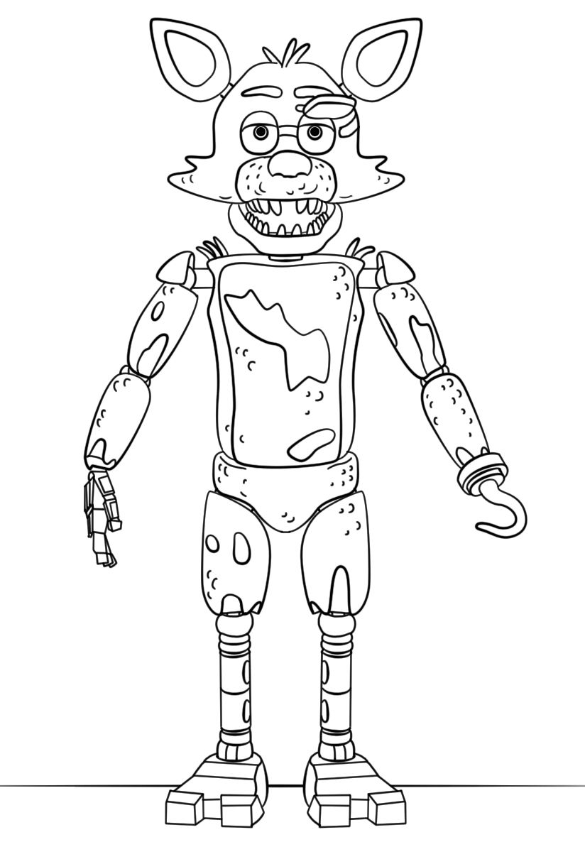 21 Inspired Picture Of Five Nights At Freddy S Coloring Pages Entitlementtrap Com Fnaf Coloring Pages Coloring Books Coloring Pages