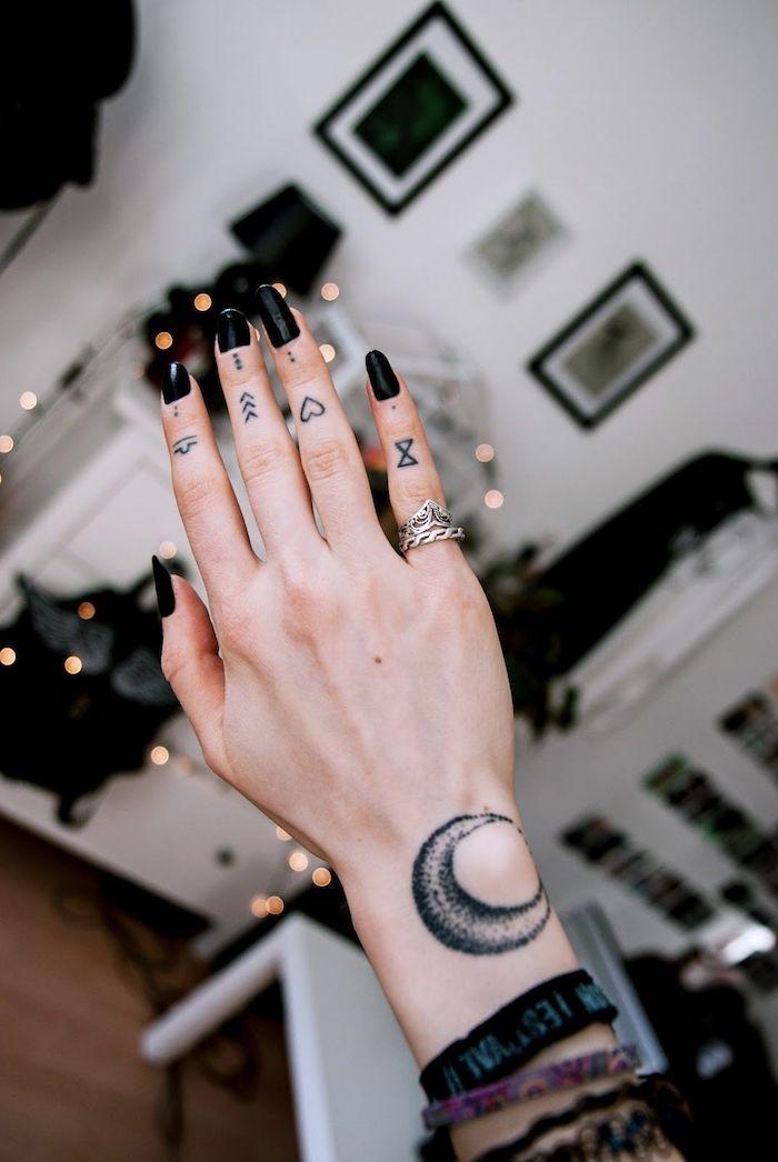 Photo of ▷ 1001 + Finger Tattoo Ideen und ihre Bedeutung