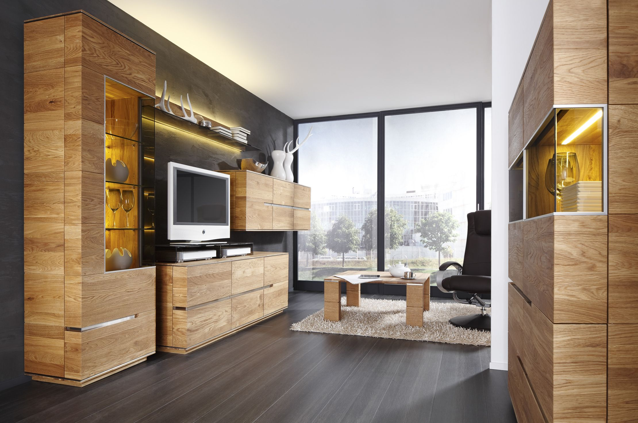 Wohnzimmer Inspiration in 8  Rustikale wohnzimmermöbel