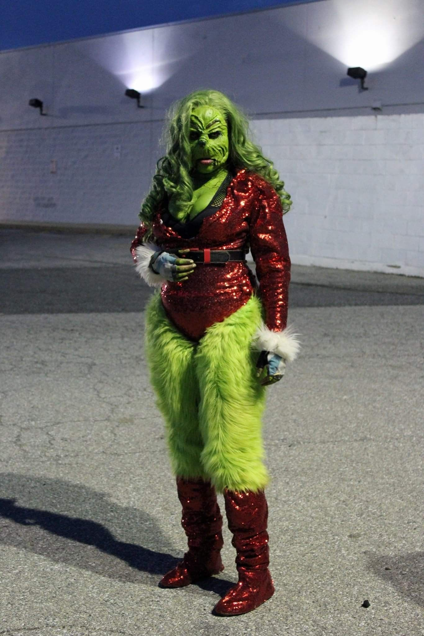 Female grinch Holiday costumes, Grinch costumes