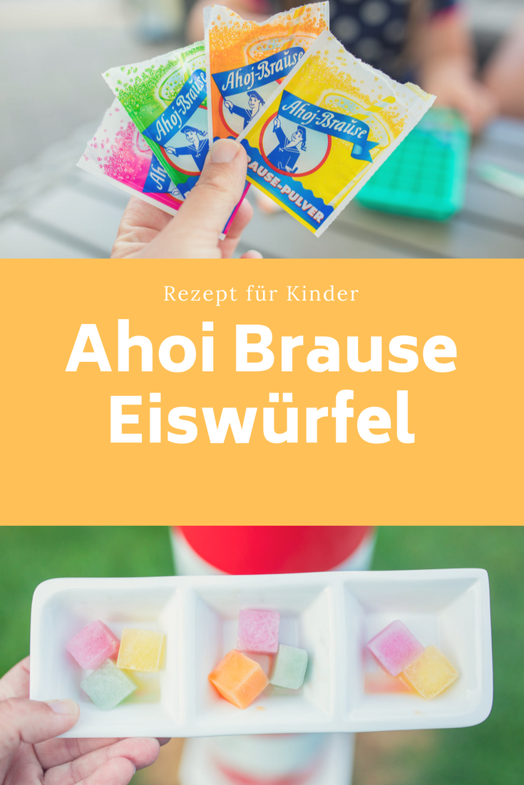 Photo of Summer recipe for children: delicious Ahoi shower ice cubes