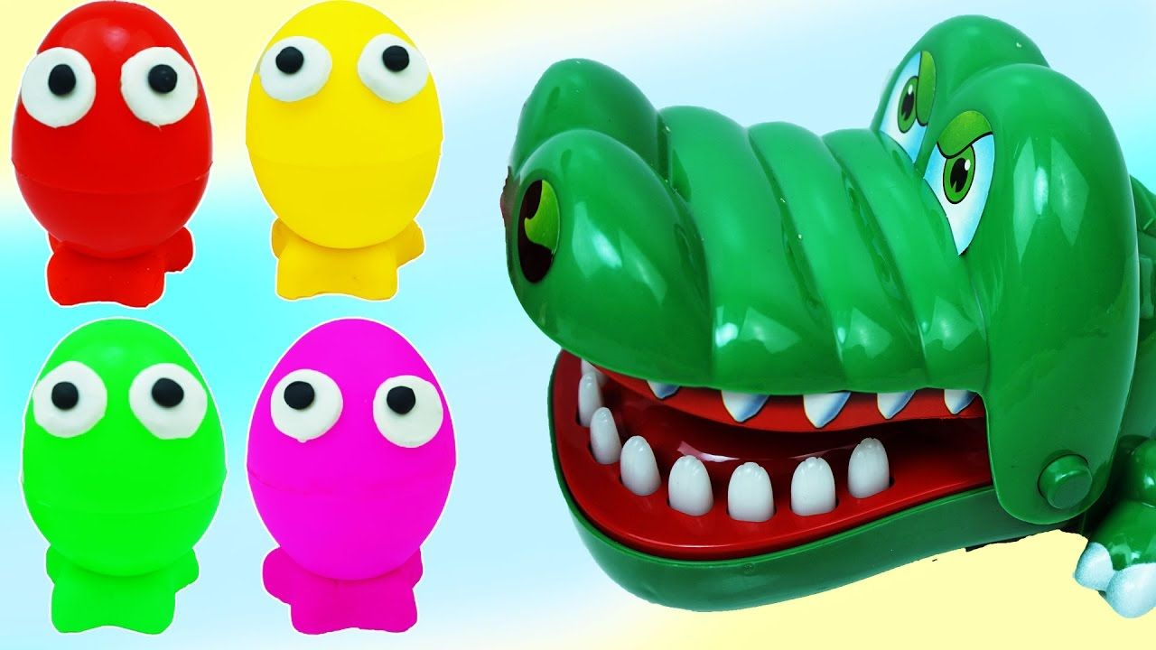 Learn Colors Surprise Eggs Dinosaurs for Children, Toddlers -  Learn Col...