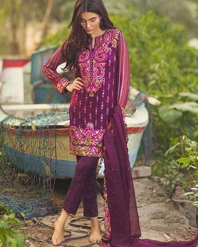For booking Whatsapp on 9898901062  Price 1800Rs. Only Semi stitched Georgette  #designersuits #uk  #london #love #womenwear #salwarkameez #ethnicwear #sari #indian #desifashion #fashion #fashionista #salwar #couture #bride #bridalwear #repost #celebrities #beauty #gown #bollywood #dressyourface #fresh #salwarsuit #anarkali #mumbai #design #ethnic #saree #ethnicyug