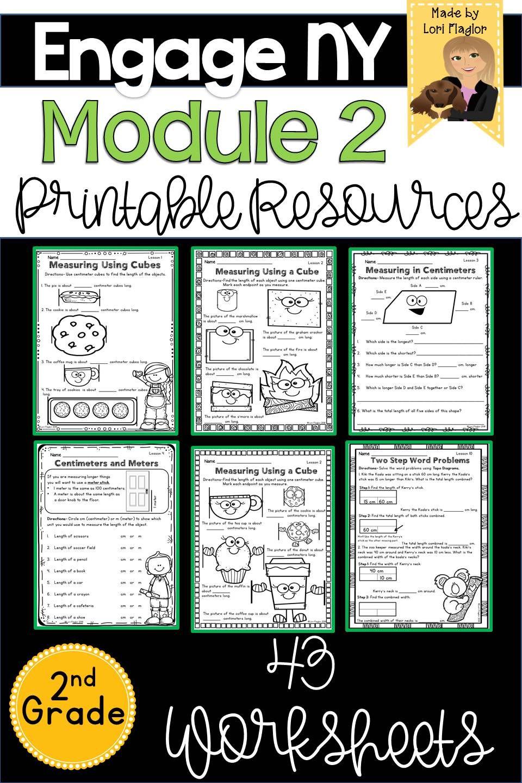 Engage Ny Grade 2 Module 2 Supplemental Printable And Digital Resource Eureka Math Engage Ny Math Engage Ny