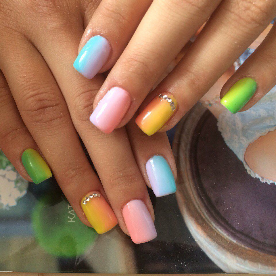 Nail Art #1129 - Best Nail Art Designs Gallery | Nail gradient ...