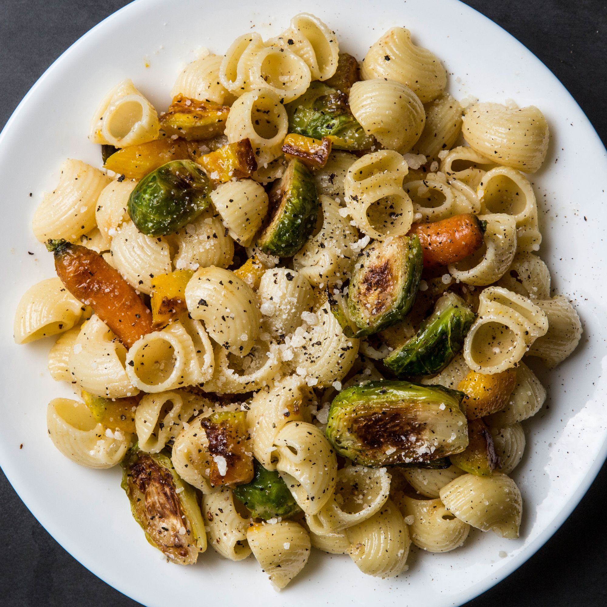 Cacio E Pepe E Roasted Vegetables The Perfect Bowl Of Pasta