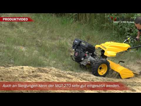 Bodenfräse für Motorgeräteträger Jansen MGT-270