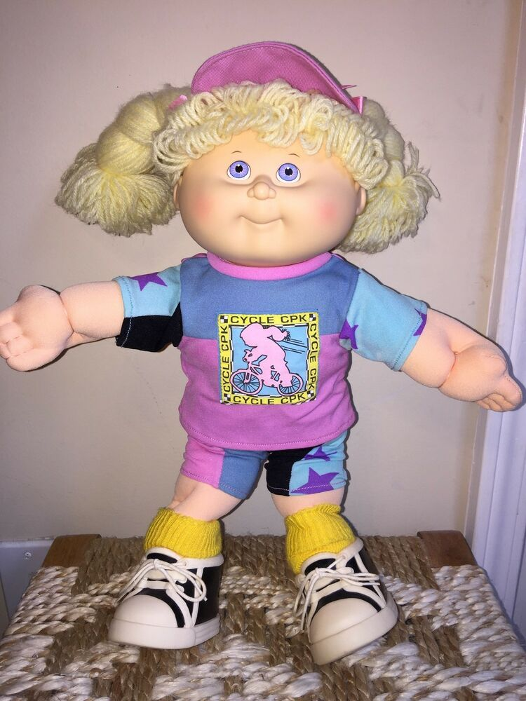 1990 Cabbage Patch Kids Hasbro Vintage First Edition Blonde Cpk Cycle Girl Doll Ebay Cabbage Patch Kids Dolls Patch Kids Cabbage Patch Kids