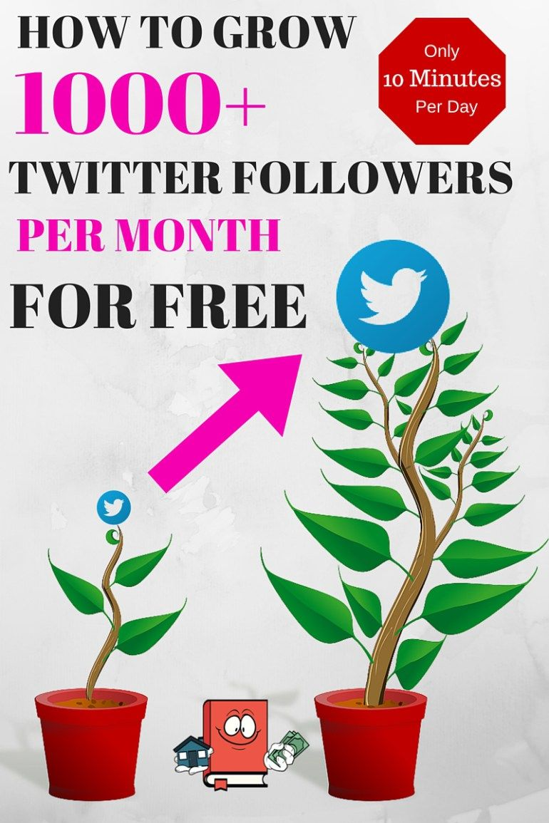 How To Grow 1 000 Twitter Followers Per Month For Free Twitter Followers Twitter Marketing Blog Help