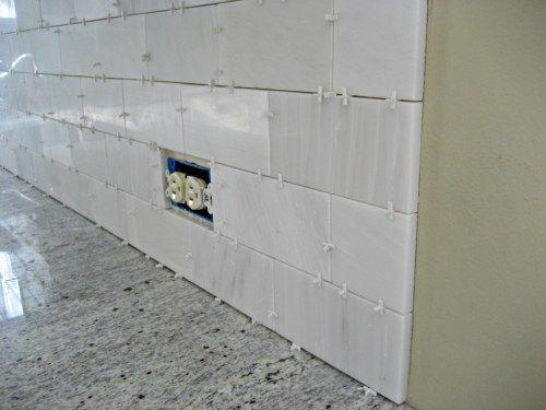 White Gray Granite Countertop And Backsplash Tile Shop