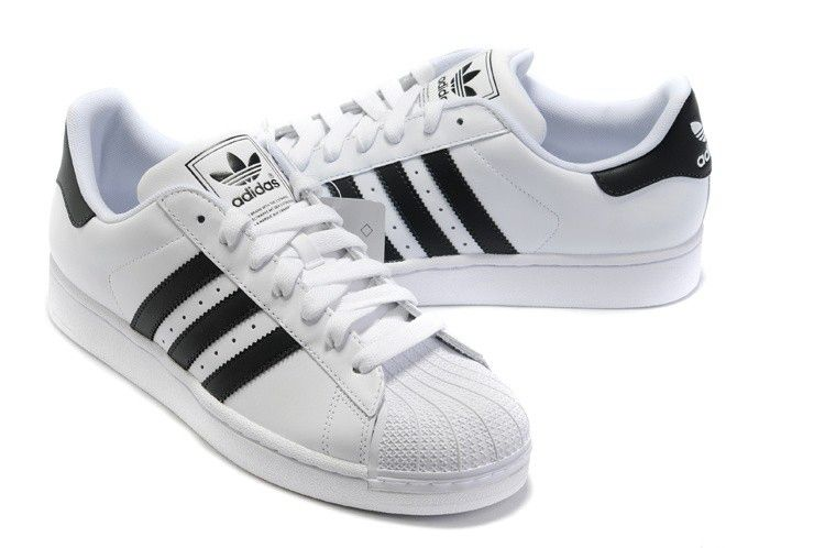 Adidas Superstar 2 G17068 White Black Trainers For Special UK Sale .