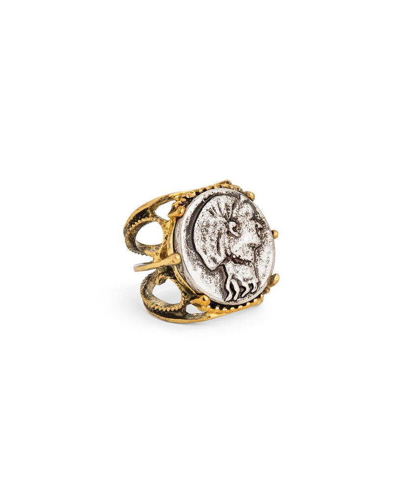b876360047c Joias · Ancient Coin Ring