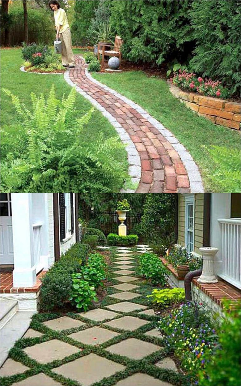25 Most Beautiful Diy Garden Path Ideas In 2020 Diy Backyard