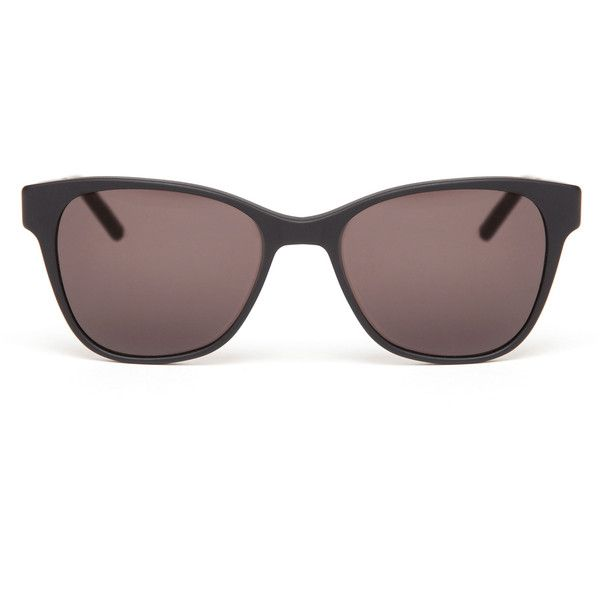 Prism Matte Black Sunglasses (370 CAD) ❤ liked on Polyvore featuring accessories, eyewear, sunglasses, glasses, matte lens sunglasses, prism eyewear, matte black sunglasses, black lens sunglasses and prism glasses